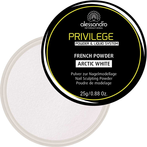 Privilege French Powder Blush Artik White ( French Pudra Mat Beyaz)