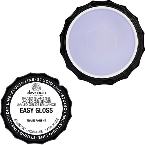 Easy Gloss Gel TRANSPARENT (%100 GEL İÇEREN PARLATICI ŞEFFAF RENK TIRNAK GEL)