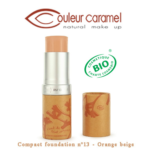 Couleur Caramel Compact foundation