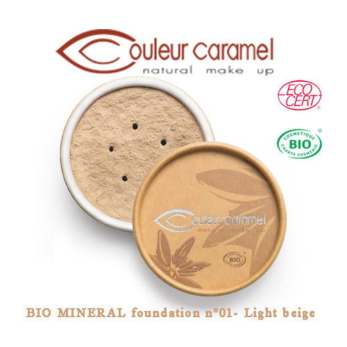 Couleur Caramel Bio Mineral Foundation