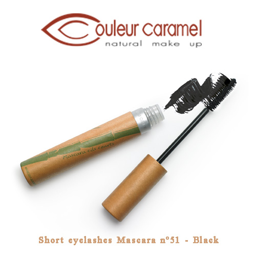 Couleur Caramel Short eyelashes Mascara