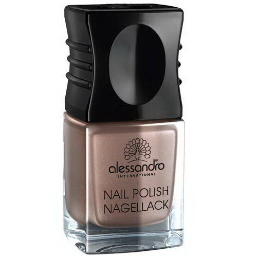 Nail Polish Brown Metallic 10ml