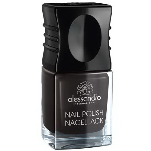 Nail Polish Midnight Black 10ml