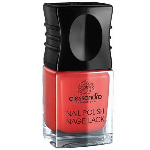 Nail Polish Orange Red 10ml